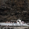 Our largest boat is still small enough to maneuver into the open ceiling cave on the na pali coast tour