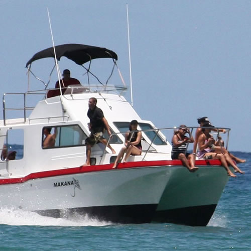 Makana Charters - Morning Na Pali Tour