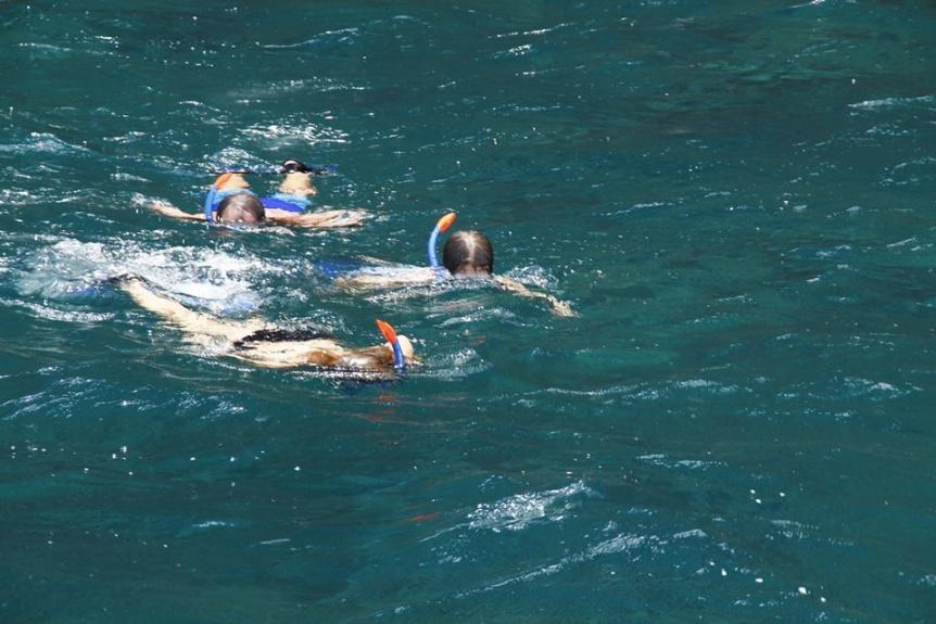 Snorkeling in Kauai