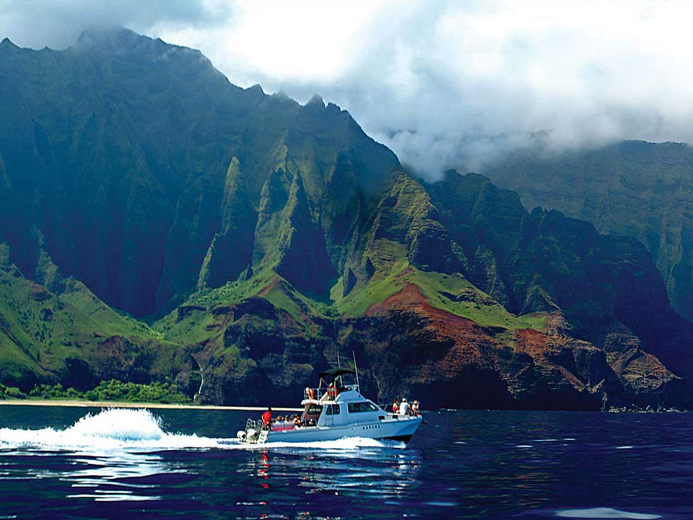 The Makana - Na Pali Coast Tours